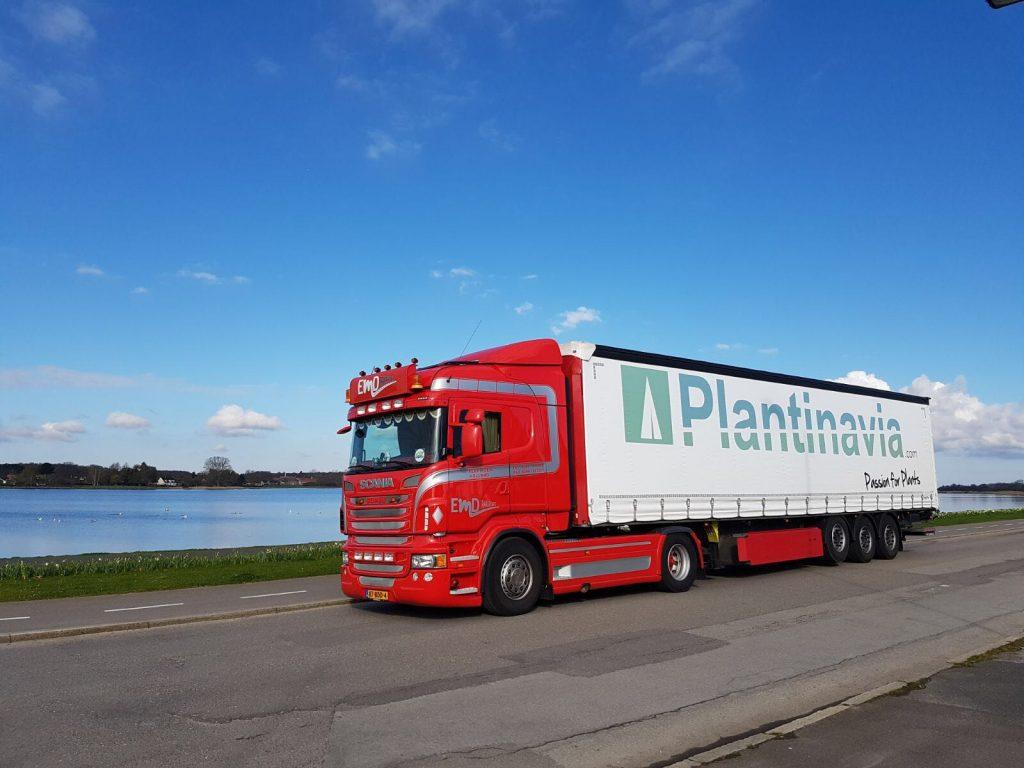 Plantinavia Transport Truck